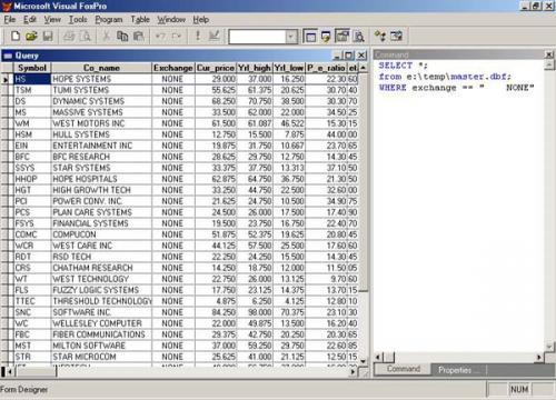 Вывод результата SQL-запроса в